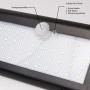 LED Solarleuchte 500lm 38SMDs wasserdicht kabellos für Außenbereich RTE02