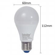 5x LED Birne E27 8W Birne 640Lumen