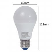 5x LED Lampe E27 8W Birne 640Lumen