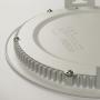 LED Panel Ultraslim Rund Einbaustrahler 15W