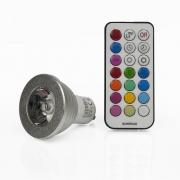LED RGB Lampen GU10 4W Farbwechsel Spot