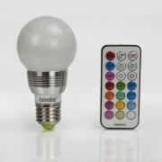 LED RGB Lampen E27 4W Farbwechsel Birne
