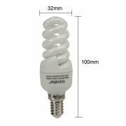 10x Sparlampe E14 9W Kaltweiß FE785 Spirale Energiesparlampe