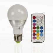 LED RGB Lampen E27 5W Farbwechsel Birne