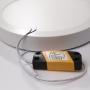 LED Aufbau Panel Ultraslim Rund 900lm Ø172x36mm