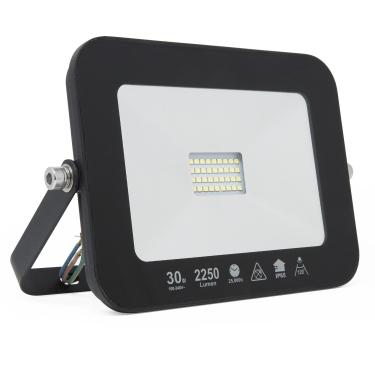 LED Ultraslim Außenstrahler wasserdicht 2250lm 30W
