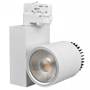 30W LED Spotlight Strahler für 3-Phasen-Stromschienen weiss