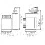3W LED Spotlight Deckenspot Deckenstrahler weiss