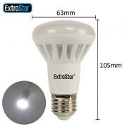 6x E27 LED Reflektorlampe 8W ersetzt 60W 680lm