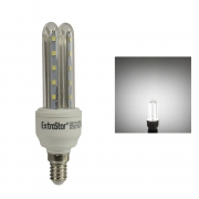 12x LED U-Form E14 5W Lampe