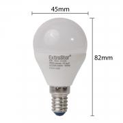 10x LED E14 6W Lampen