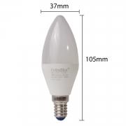 10x LED E14 6W Lampen Tropfenform