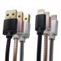 10x iPhone Ladekabel 1.2m Lightning Kabel dehnbar