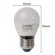 10x LED E27 6W Birne Lampen