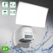 LED Außenleuchte 1000 Lumen mit Bewegungsmelder Wasserdicht Außenlicht Wandleuchte verstellbar WTT-1018