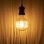 LED E27 Edison Filament 360lm Retro Look Vintage Glühfaden G100P