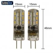 6x LED Lampen mit Fassung G4 1W entspricht 8W 70lm