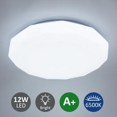 Deckenlampe 12W Deckenleuchte Kaltweiß 6500K
