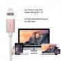 Magnetisches Ladekabel Lightning für iPhone ab 6 bis 11 Serien