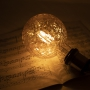 LED E27 Edison Filament 360lm Retro Look Vintage Glühfaden G125P